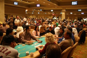 packed poker room